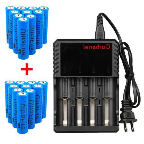 lot 3000mah 3 7v li ion rechargeable