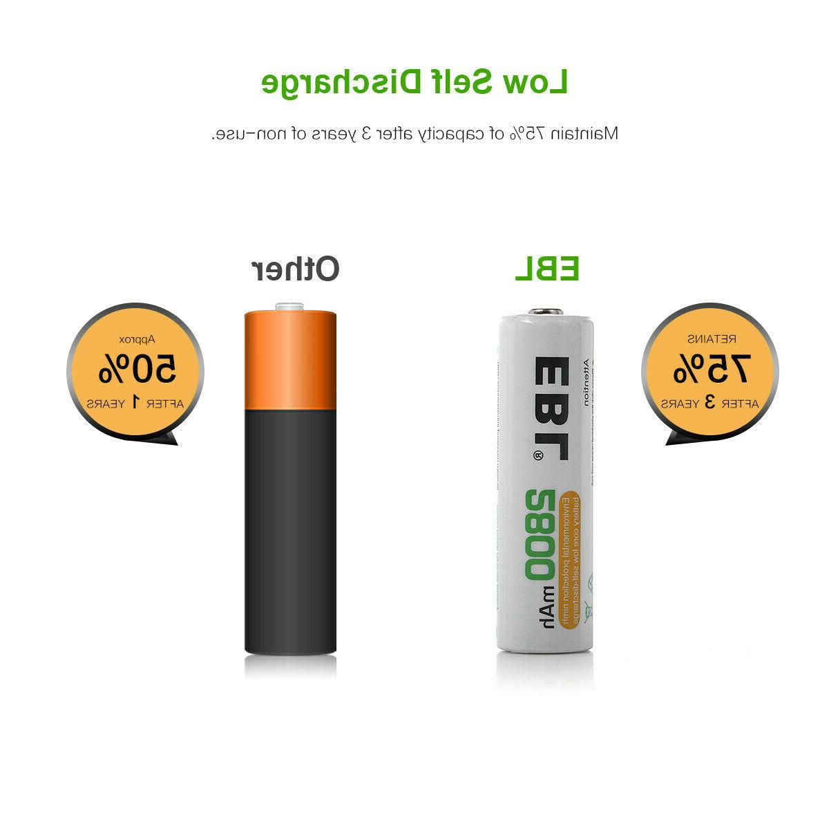Lot AA C Size 9V Rechargeable Batteries
