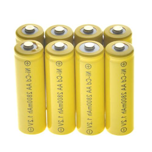 Lot Battery Solar Ni-Cd
