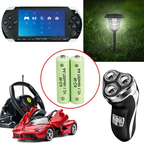 20 AA Batteries NiCD 700mAh Solar Ni-CD Light