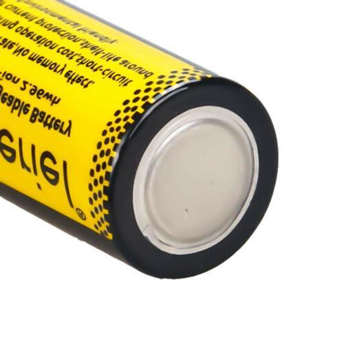 8Pcs 16340 3.7V Batteries+Charger for Camera