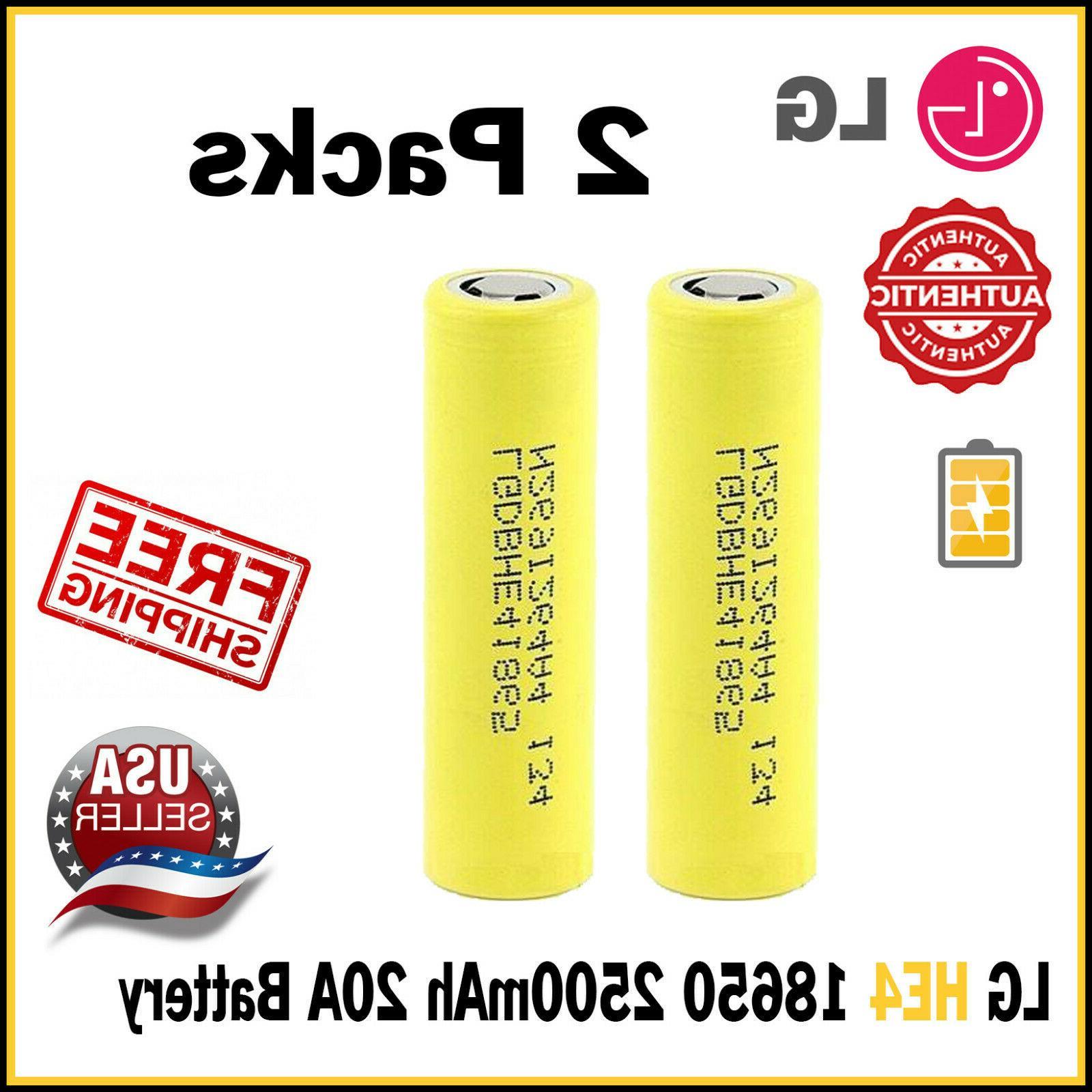 lot he4 imr 18650 battery 3 7v