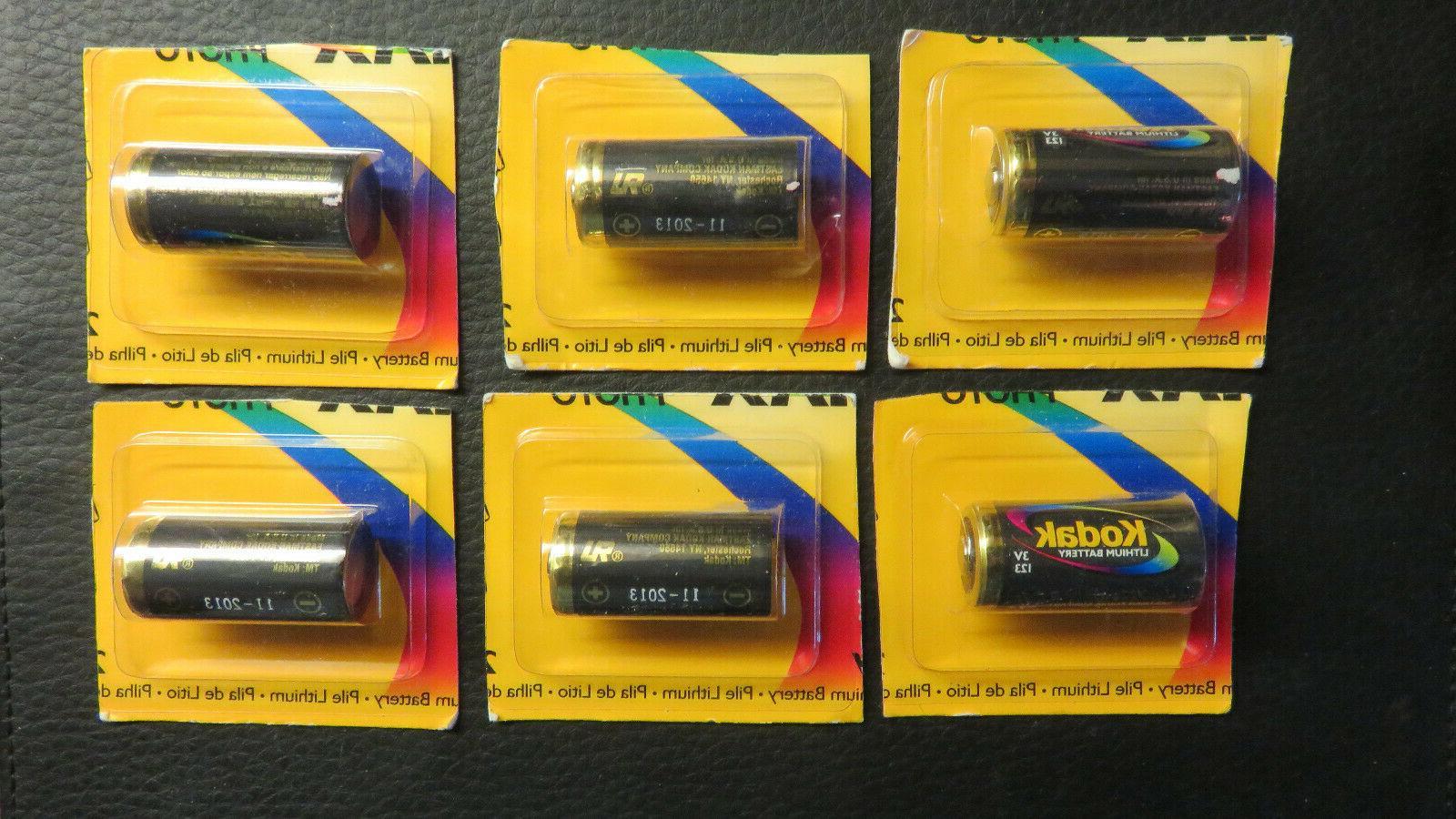 Lot of 15 - Kodak Max Photo123 Lithium Battery 1500mAh