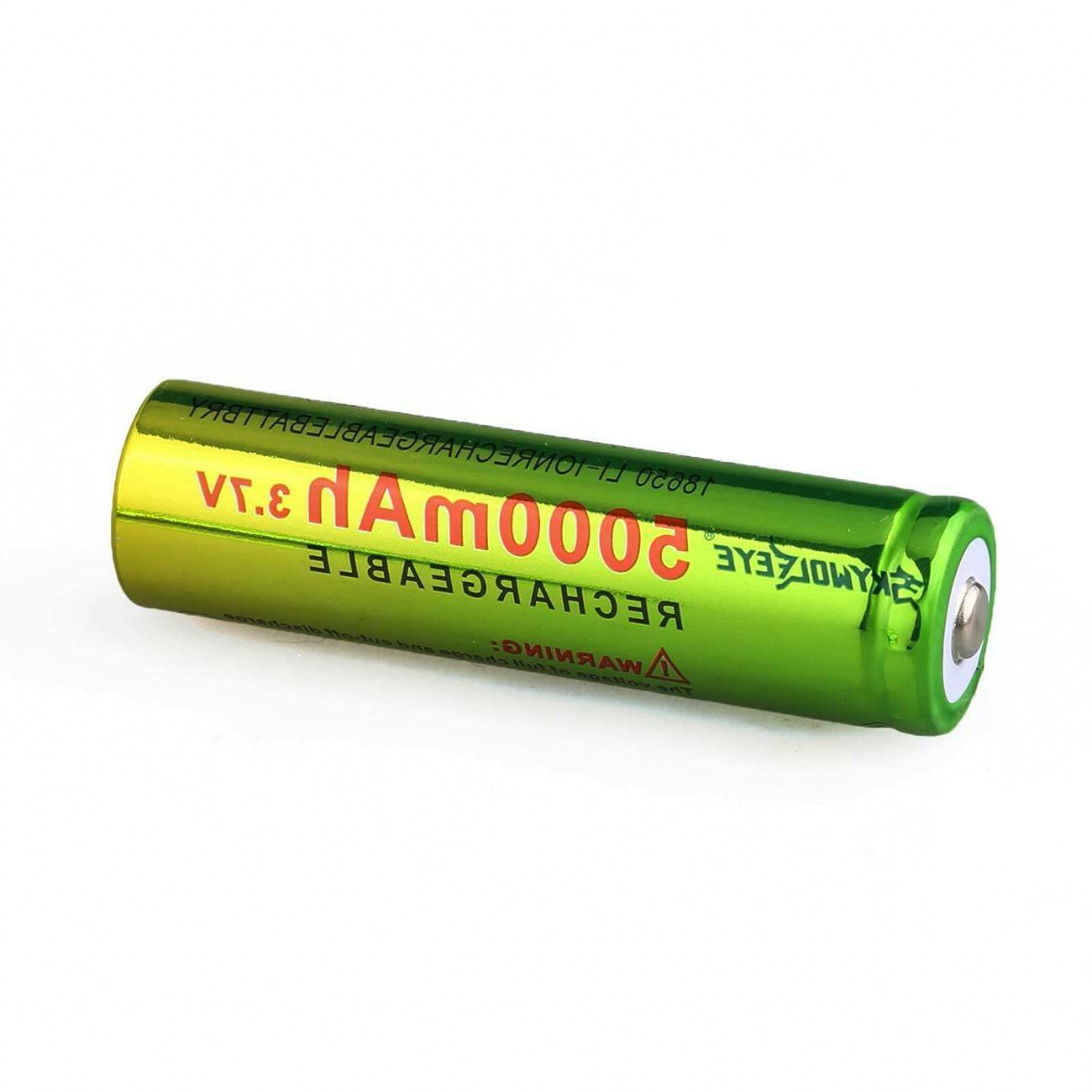 Lot 3.7V 18650 Li-ion Rechargeable Batteries