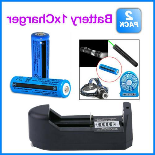 Lot Rechargeable Battery 11.1W BRC Li-ion Battery&Charger