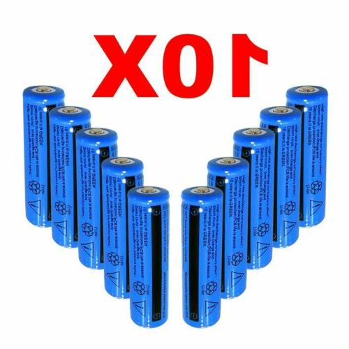Lot 11.1W Batteries 3.7V BRC Li-ion Battery&Charger