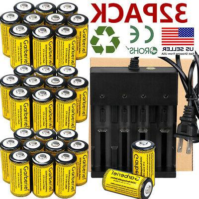 Lot Rechargeable CR123A Batteries 3.7V Li-Ion for Netgear Ar