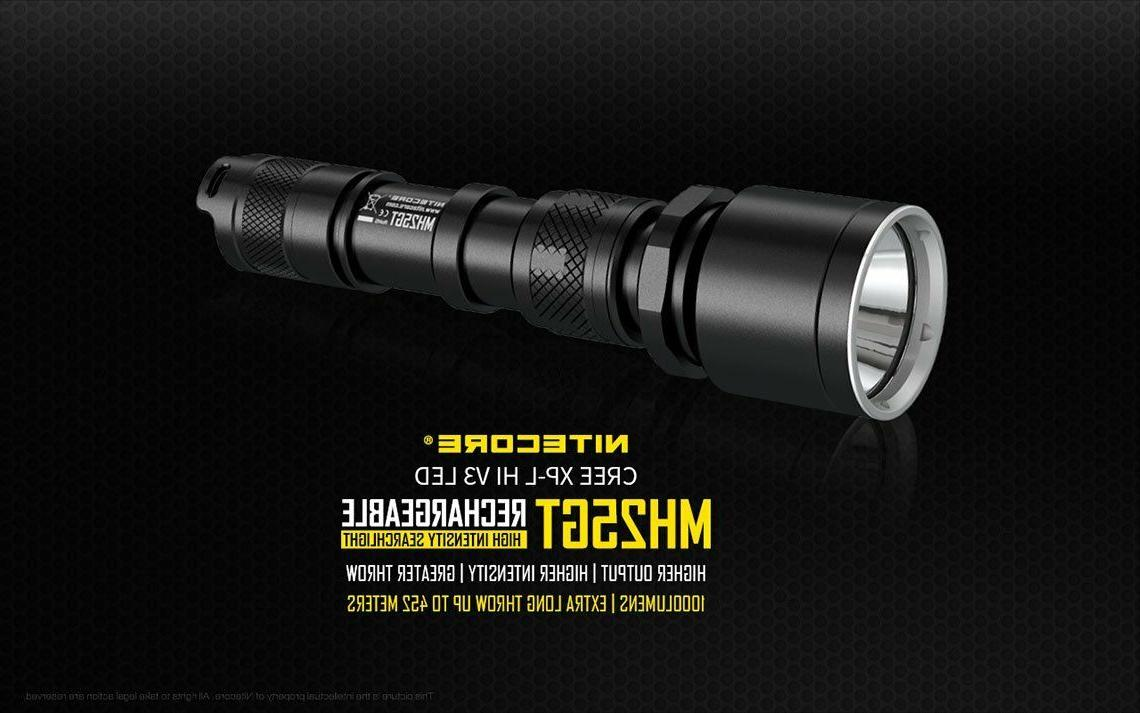 Nitecore Flashlight w/ USB Wall + Car