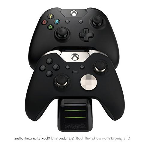PDP Xbox Controller Charger with Battery Pack Wireless Black