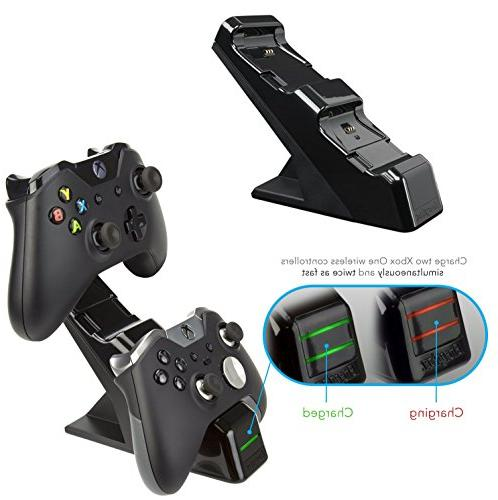 PDP Energizer Xbox Controller Charger Wireless Black