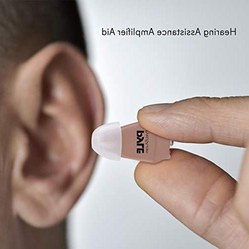 Mini Digital Hearing Device Ear Canal Sound Amplifier Device Battery - - Listening Accessories - PHLHA57