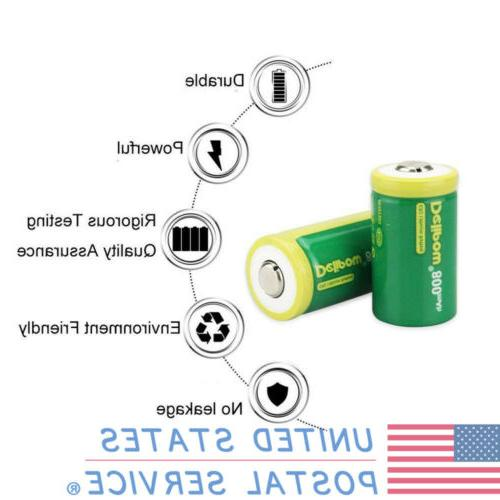 New CR2 Rechargeable 800mAh Charger