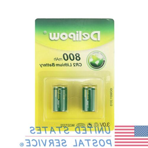 Camera 3V CR2 Rechargeable Lithium With Charger