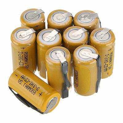 1 2v 2 3aa 600mah rechargeable battery