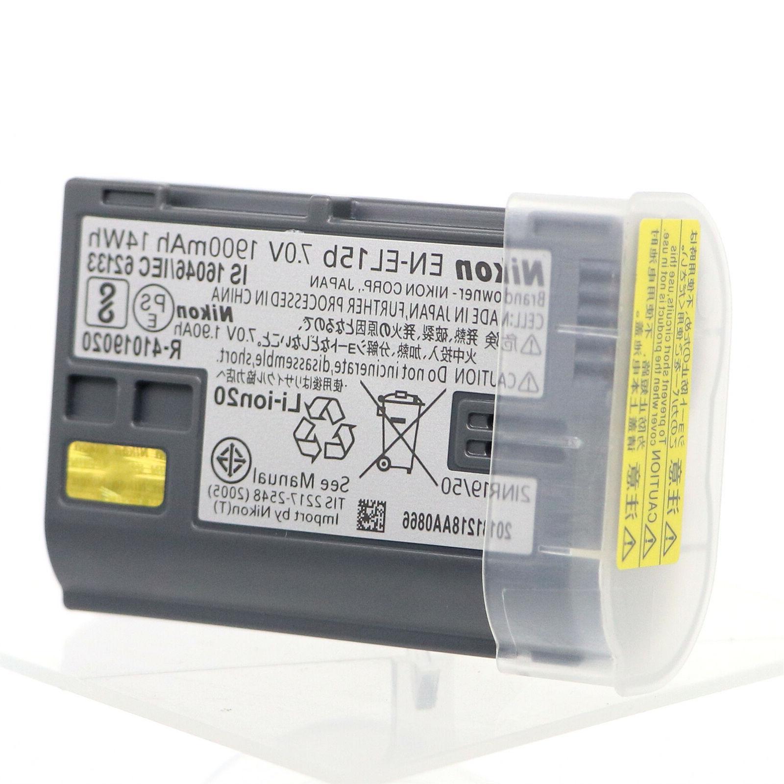Nikon EN-EL15B Li-ion Battery Compatible EN-EL15A
