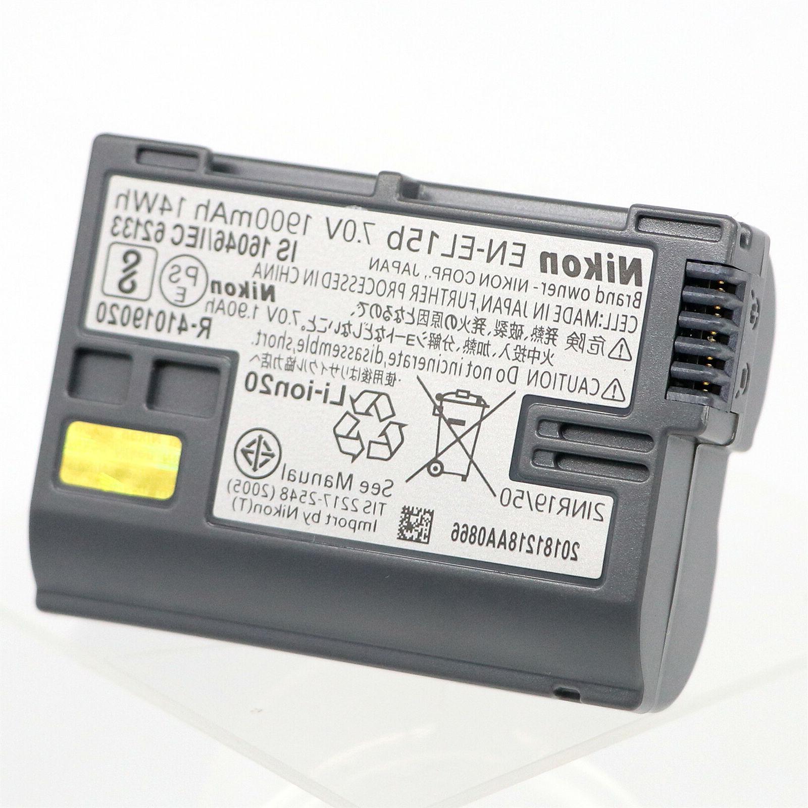Nikon EN-EL15B Battery Compatible EN-EL15A