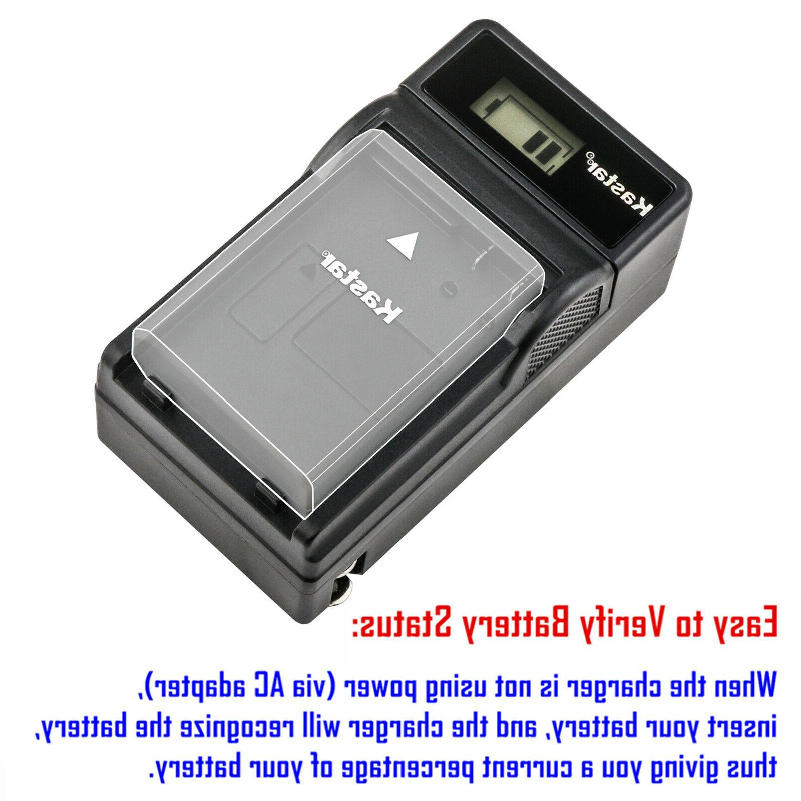 Kastar Rechargeable Battery Charger Fujifilm XQ2