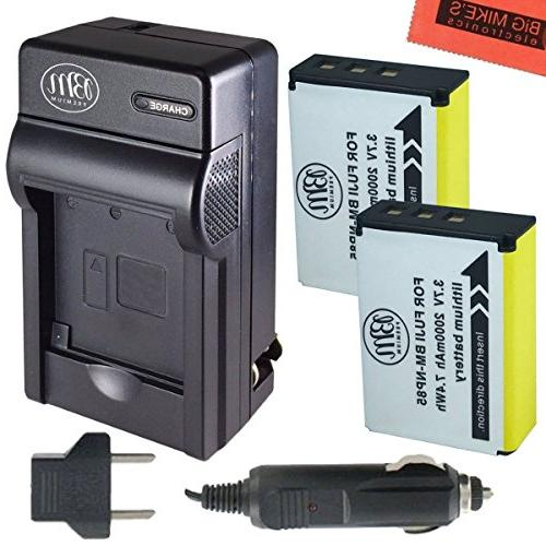np 85 batteries charger kit