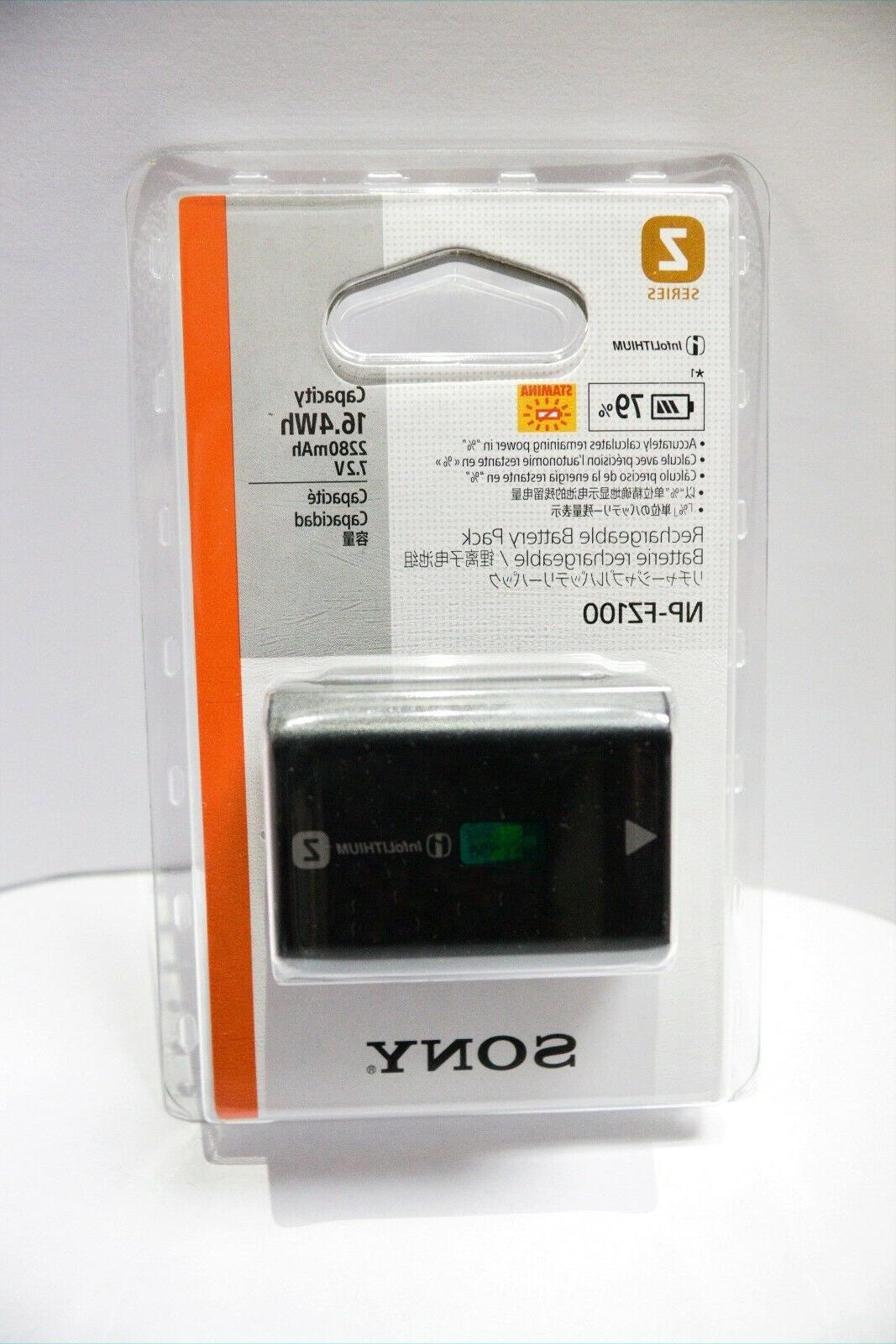Sony NP-FZ100 Lithium-Ion Rechargeable Battery #NPFZ100