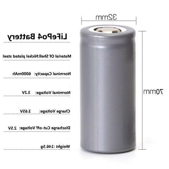 OmniTEK 3.2v Li-ion Rechargeable Battery