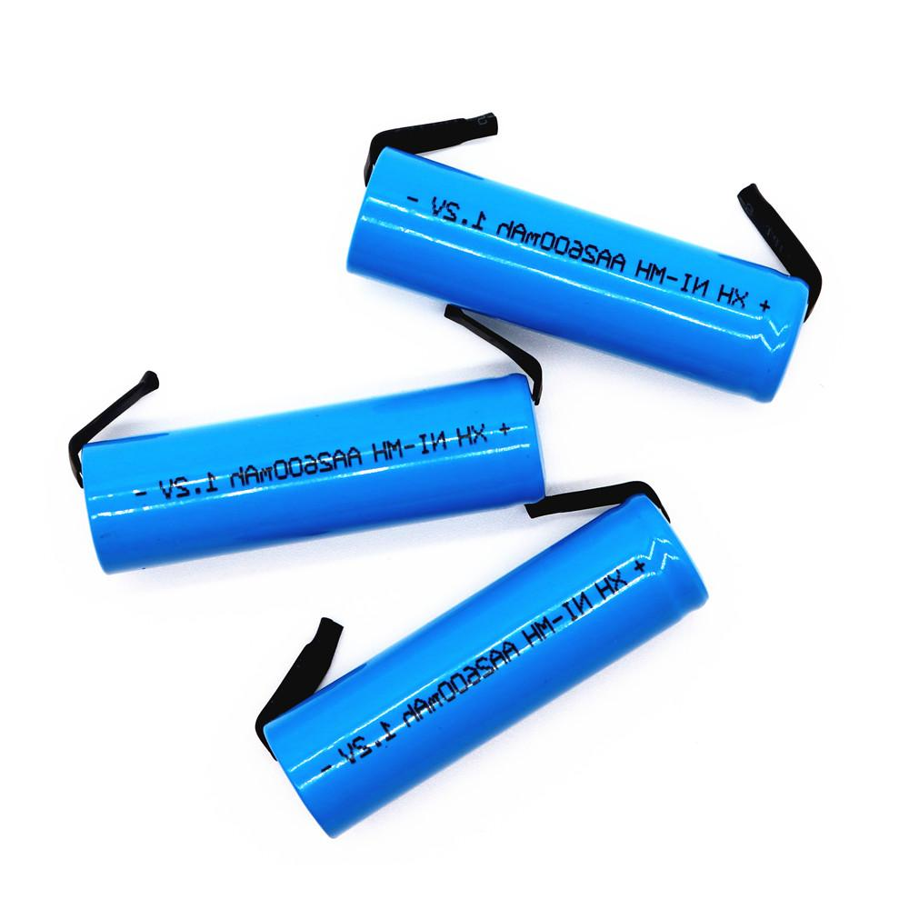 Original <font><b>Rechargeable</b></font> 1.2V <font><b>AA</b></font> <font><b>Battery</b></font> for Electric Razor toothbrush