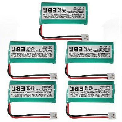 5x Phone Battery For Uniden BT-101 BT-1011 Vtech BT184342 BT