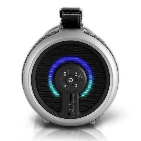 Portable Bluetooth Stereo System, Rechargeable Battery