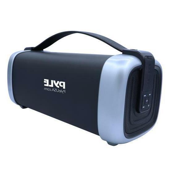 portable bluetooth wireless speaker rechargeable battery fm
