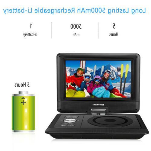 "Portable Speaker 10.5"" TFT LED 5000mAh Rechargeable Battery"
