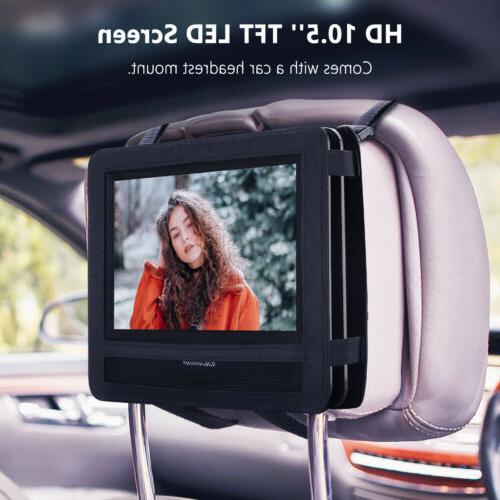 Portable Car Speaker LED Rechargeable