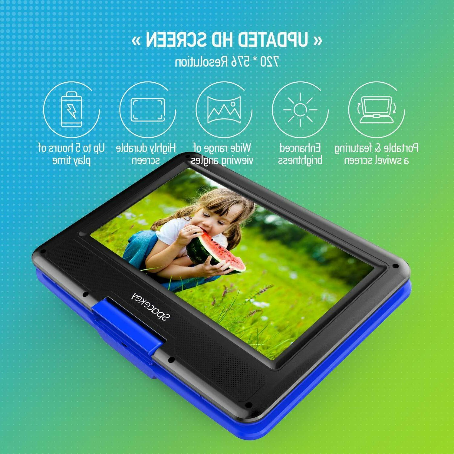 Portable DVD with Hours Battery , Screen,