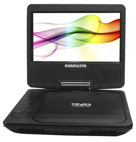 Sylvania Portable DVD Player Built-In Rechargeable Battery