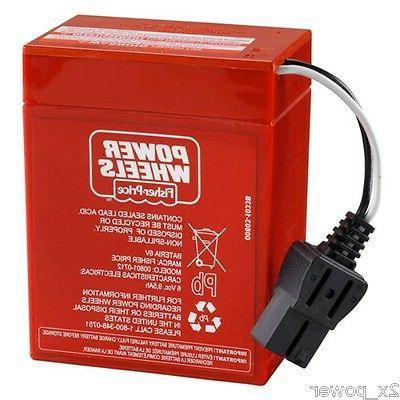 power wheels red battery super