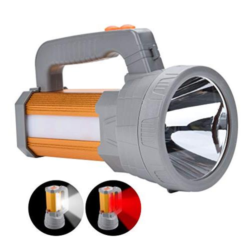 powered super bright rechargeable spotlight