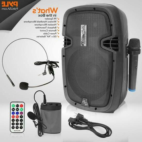 Pyle Wireless Portable Bluetooth Battery