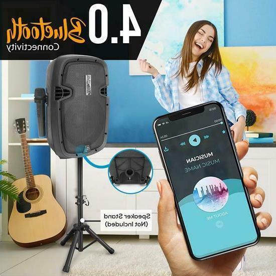 Pyle PPHP108WMU Wireless Portable Bluetooth Loudspeaker w/Rechargeable Battery