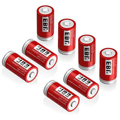 rcr123a rechargeable batteries li ion