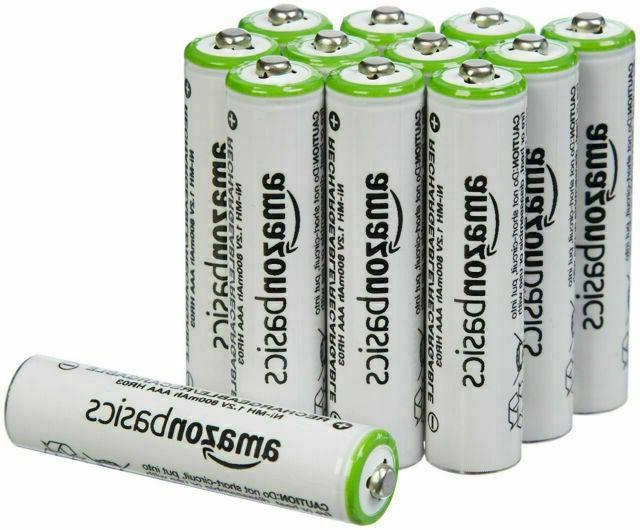rechargable aaa alkaline batteries pack of 12