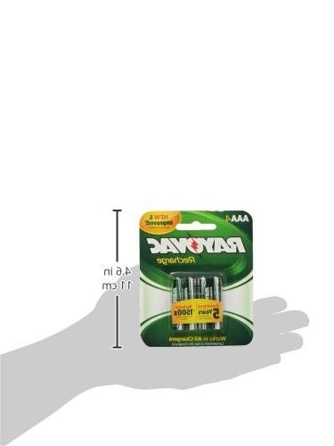RAYOVAC Batteries, LD724-4OP