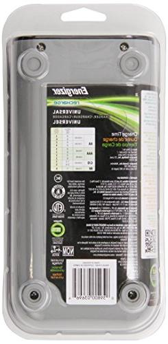 Energizer Recharge Universal Charger charges 8 NiMH