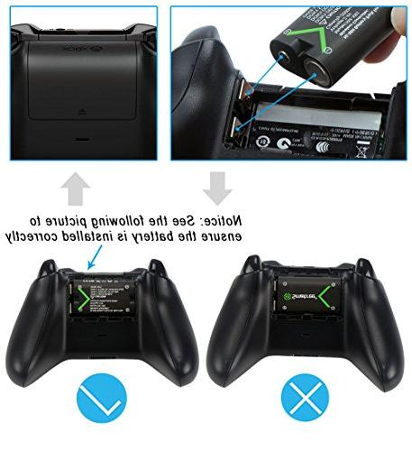 Smatree Xbox One Battery Pack 2 Rechargeable One/Xbox One X/Xbox One Elite Controller