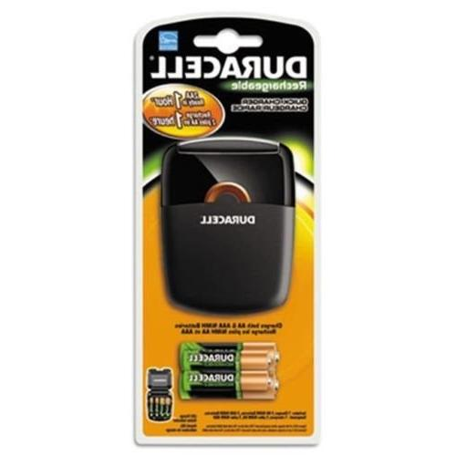 Duracell Rechargeable Quick Charger 1 Count