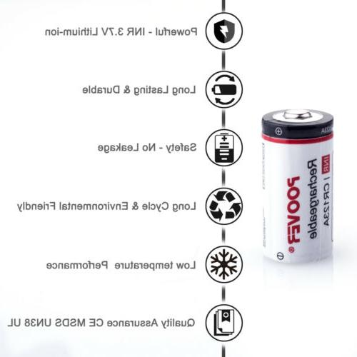8-16*CR123A Lithium-ion for USB