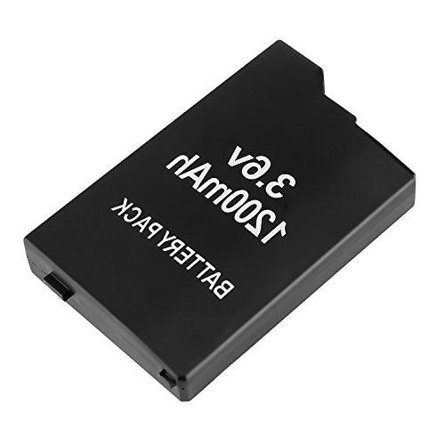 Insten Rechargeable Replacement 1200mAh 3.6V With Sony PSP 2000