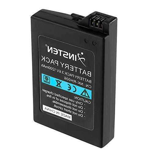 Insten Rechargeable Replacement 1200mAh 3.6V Compatible Sony / PSP 2000
