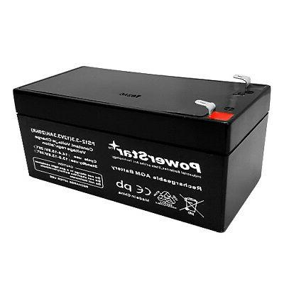 12v 3ah sla battery for rechargeable spotlight