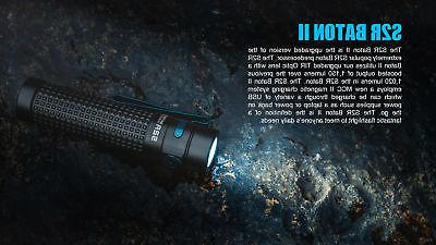 Olight Baton 1150 Rechargeable Flashlight & Olight Charger