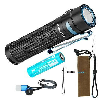 s2r baton ii 1150 lumen rechargeable flashlight