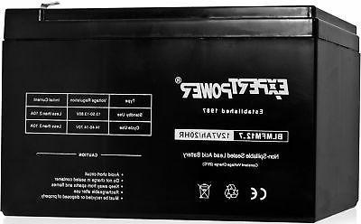 sealed lead acid battery 12v 6v 20ah