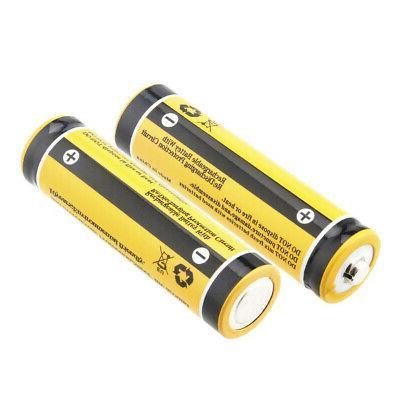 Skywolfeye Battery 3800mAh Li-ion 3.7V Rechargeable Headlamp DA